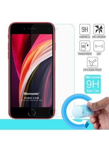 Microsonic Apple iPhone SE 2020 Nano Cam Ekran Koruyucu Renksiz
